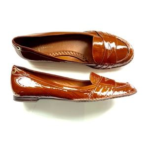 Vince Camuto patent leather loafers